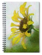 Kate's Sunflower Spiral Notebook