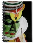 kATHAKALI PAINTING REALISTIC Spiral Notebook