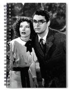 Katharine Hepburn Cary Grant Bringing Up Baby 1938-2015 Spiral Notebook