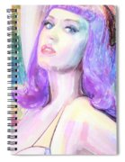 Katy Perry Watercolor, Spiral Notebook