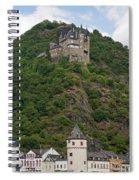 Katz Castle And Village Spiral Notebook