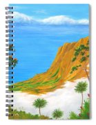 Kauai Hawaii Spiral Notebook