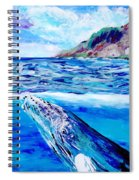 Kauai Humpback Whale Spiral Notebook