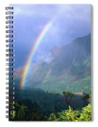 Kauai Rainbow Spiral Notebook