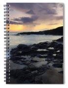 Kauai Storm Passing Spiral Notebook
