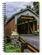 Kaufman Covered Bridge - Pa Spiral Notebook