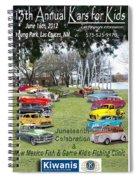 Kawanis Event Poster Spiral Notebook
