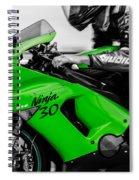 Kawasaki Ninja Zx-6r Spiral Notebook