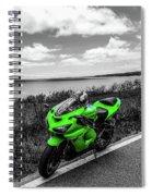 Kawasaki Ninja Zx-6r 2 Spiral Notebook