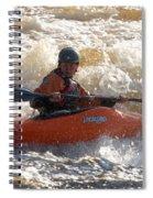 Kayak 9 Just Relax Spiral Notebook