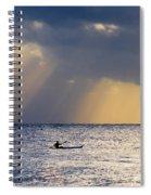 Kayak At Dawn Spiral Notebook