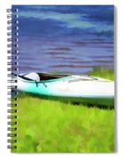 Kayak In Upstate Ny Spiral Notebook