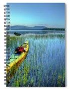 Kayak Sunrise Spiral Notebook