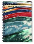 Kayaking Forever  Spiral Notebook