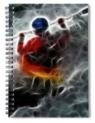 Kayaking In The Zone 3 Spiral Notebook