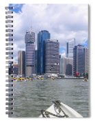 Kayaking On The Brisbane River Spiral Notebook