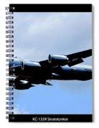 Kc-135r Stratotanker Poster Spiral Notebook