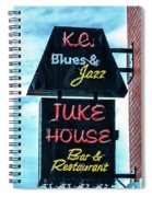 Kc Blues Spiral Notebook