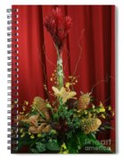 Keawalai Still Life Tropical Flowers Spiral Notebook