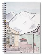 Kedarnath Jyotirling Spiral Notebook