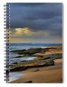Ke'e Beach - A Different View Spiral Notebook