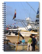 Keels And Wheels Yachta Yachta Yachta Yachta Spiral Notebook