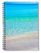 Keep Calm And Listen To The Sea Spiral Notebook