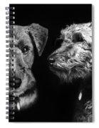 Keeper The Welsh Terrier Spiral Notebook