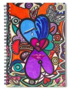 Keeping The Silence Spiral Notebook