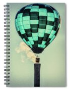 Keeping Warm As You Float Spiral Notebook