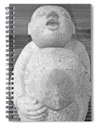 Keihanna Statue No. 39-1 Spiral Notebook