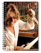 Keith Emerson By Gene Martin Spiral Notebook