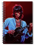 Keith Richards The Riffmaster Spiral Notebook