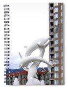 Kelowna Dolphins Spiral Notebook