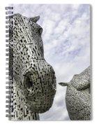 Kelpies Spiral Notebook