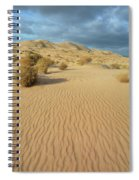 Kelso Dunes Mojave Preserve Portrait Spiral Notebook
