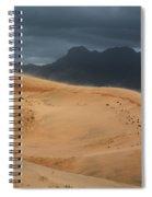 Kelso Dunes Shifting Sands Spiral Notebook