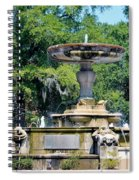 Kenan Memorial Fountain Spiral Notebook