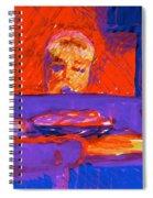 Kennebunkport Inn Piano Singer Spiral Notebook
