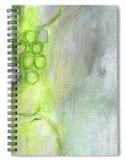 Kensho- Abstract Art By Linda Woods Spiral Notebook