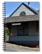 Kensington Train Station Spiral Notebook