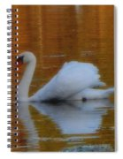 Kensingtons Swan 1  Spiral Notebook