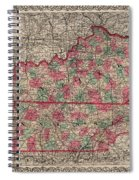 Kentucky And Tennessee Spiral Notebook