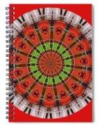 Kentucky Derby Glasses Kaleidoscope 3 Spiral Notebook