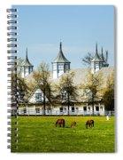 Revised Kentucky Horse Barn Hotel 2 Spiral Notebook
