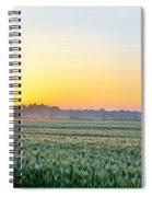 Kentucky Wheat Crop Spiral Notebook