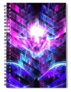 Kerberos Moonlight Spiral Notebook