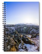 Kerid Crater Spiral Notebook
