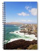 Kerry Cliffs Panoramic Spiral Notebook