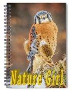 Kestrel Nature Wear Spiral Notebook